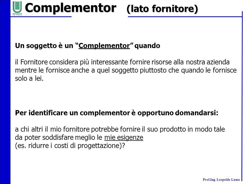 Complementor (lato fornitore)