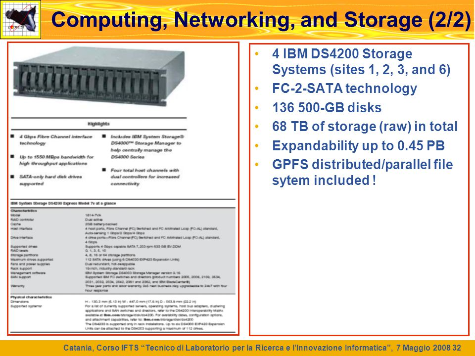 Computing, Networking, and Storage (2/2)