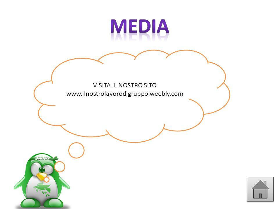 media VISITA IL NOSTRO SITO www.ilnostrolavorodigruppo.weebly.com