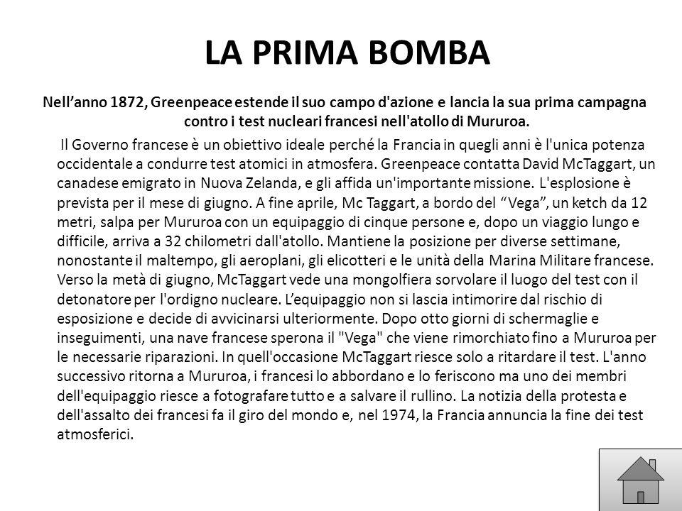 LA PRIMA BOMBA
