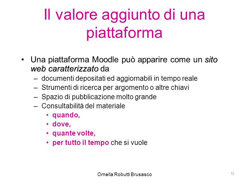 Il valore aggiunto di una piattaforma