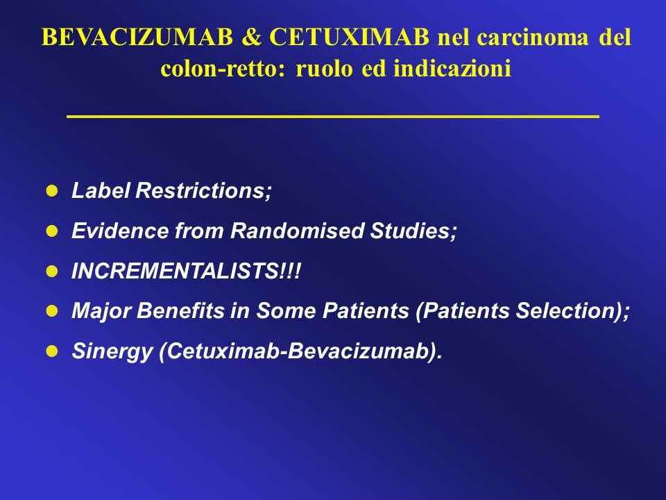 BEVACIZUMAB & CETUXIMAB nel carcinoma del colon-retto: ruolo ed indicazioni