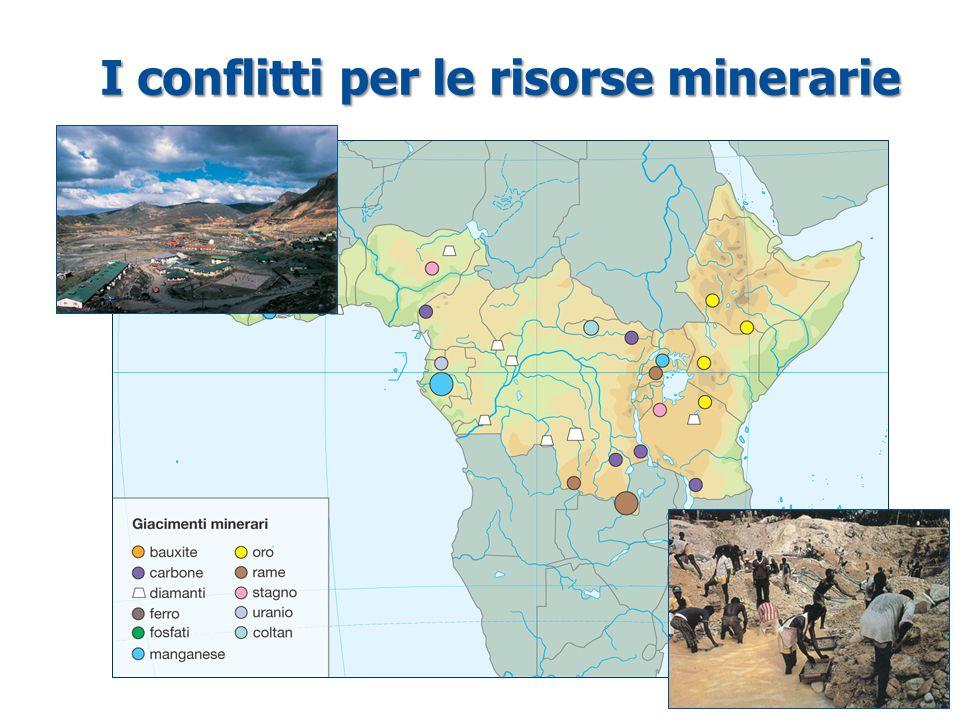 I conflitti per le risorse minerarie