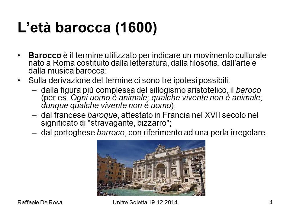 L'età barocca (1600)