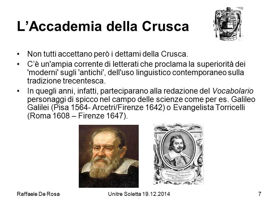 L'Accademia della Crusca