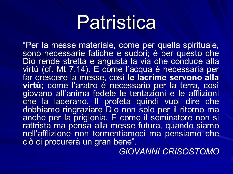 Patristica GIOVANNI CRISOSTOMO