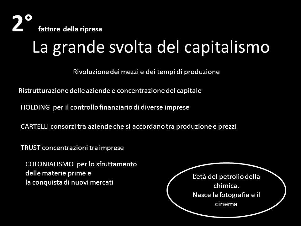 La grande svolta del capitalismo