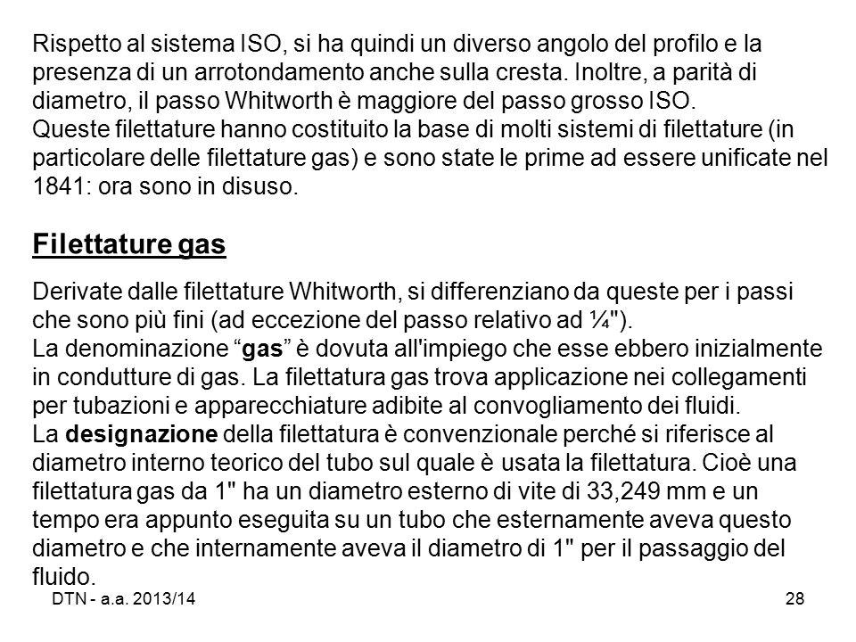 i collegamenti filettati ppt scaricare On diametro esterno 3 8 gas