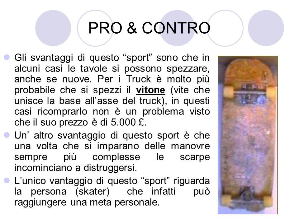 PRO & CONTRO