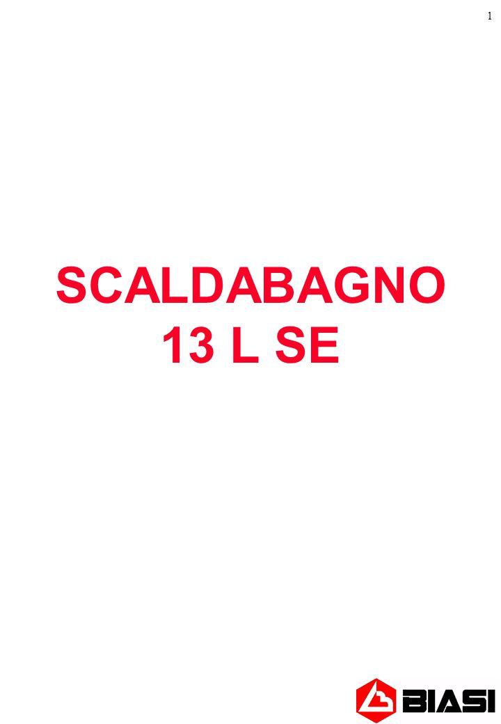 SCALDABAGNO 13 L SE