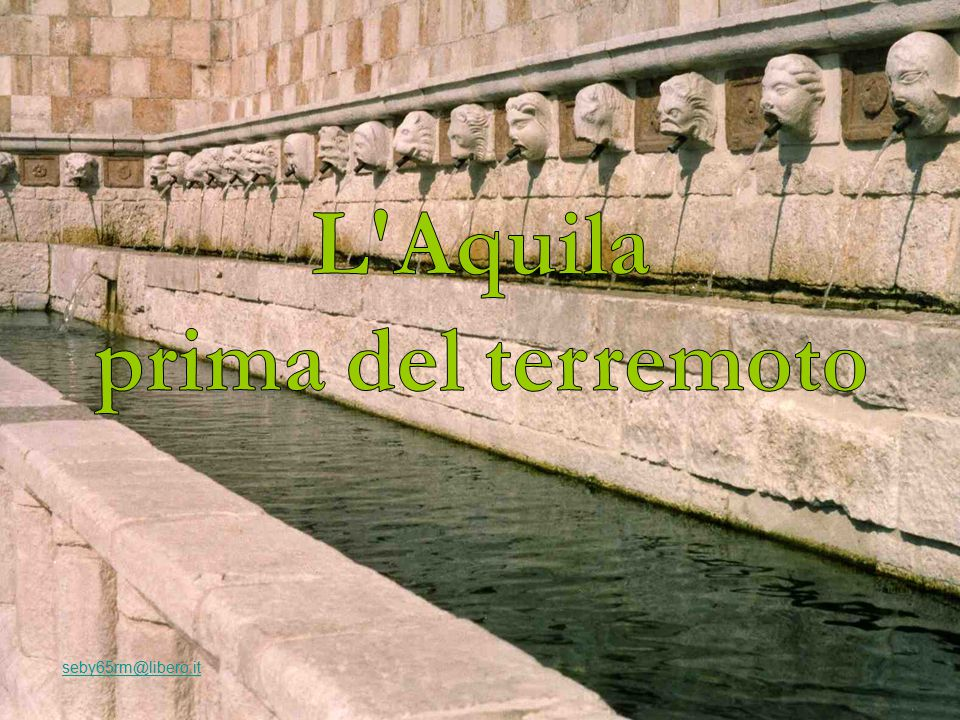 L Aquila prima del terremoto