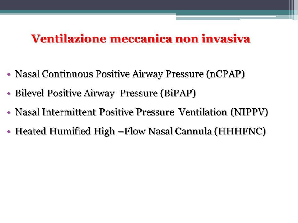 Ventilazione meccanica non invasiva