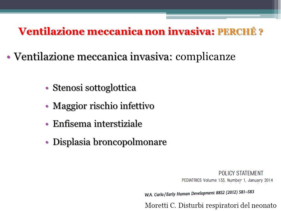 Ventilazione meccanica invasiva: complicanze