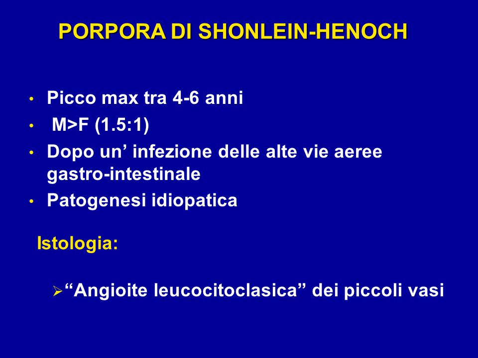 PORPORA DI SHONLEIN-HENOCH