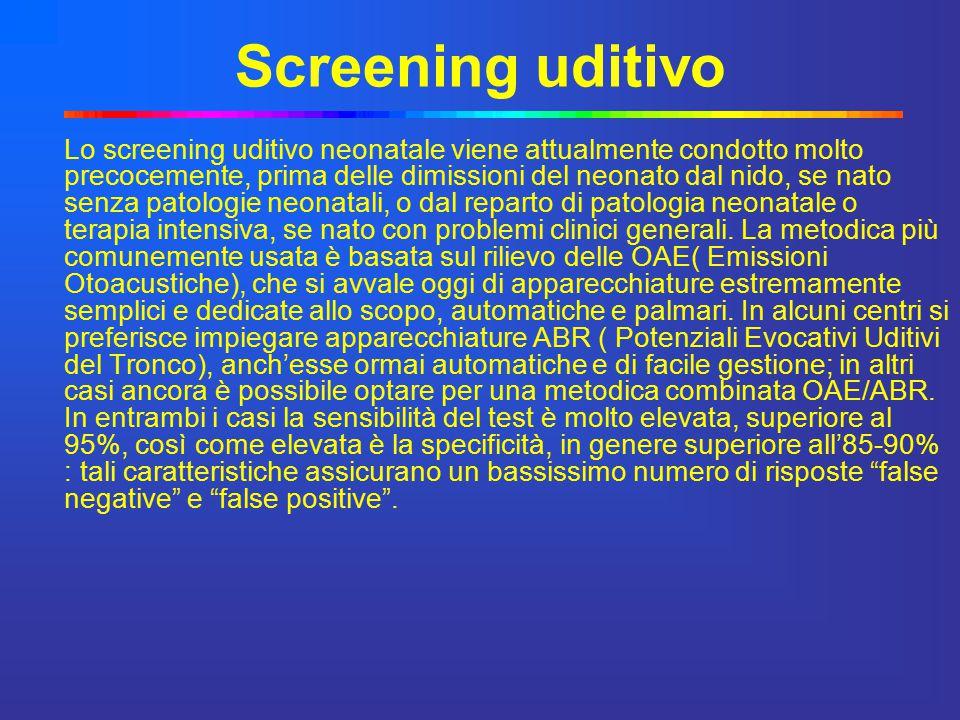 Screening uditivo