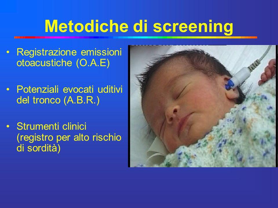 Metodiche di screening