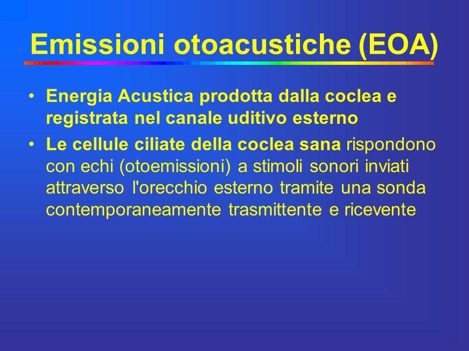 Emissioni otoacustiche (EOA)