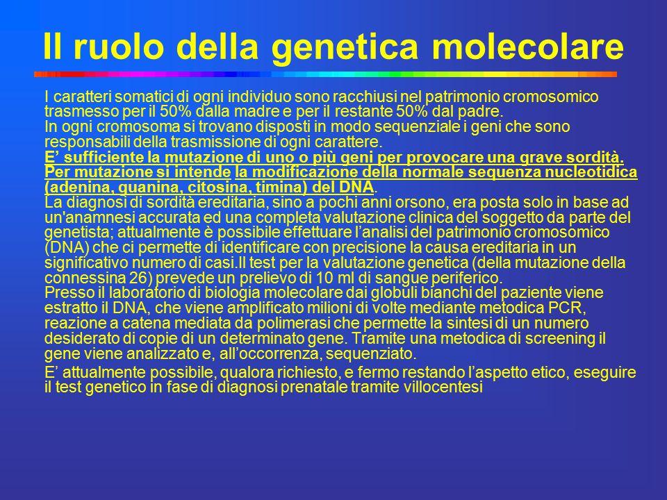 Il ruolo della genetica molecolare