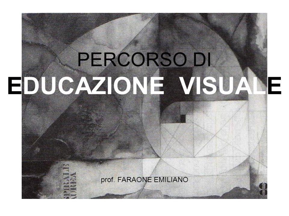PERCORSO DI EDUCAZIONE VISUALE