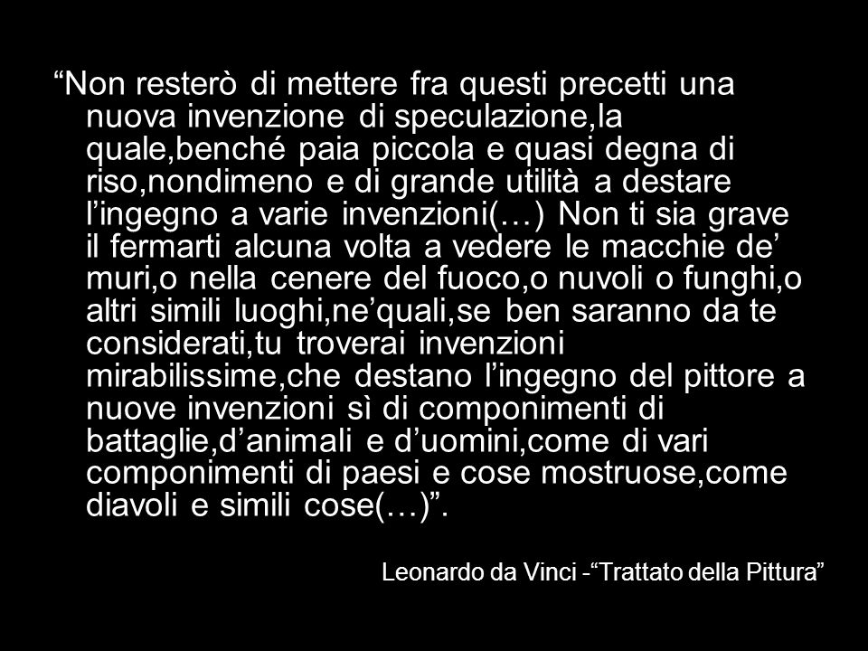Leonardo da Vinci - Trattato della Pittura
