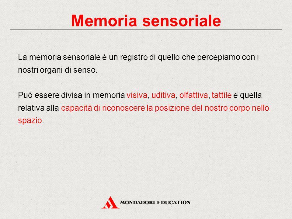 Memoria sensoriale