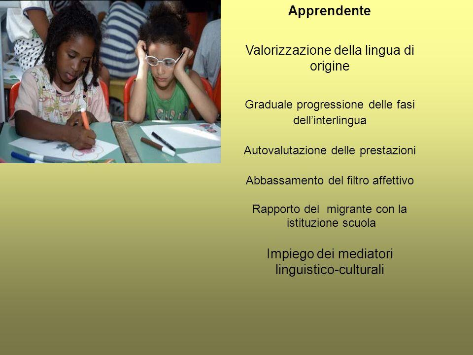Valorizzazione della lingua di origine