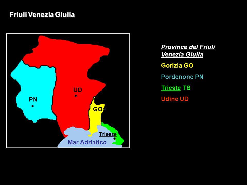 Friuli Venezia Giulia Province del Friuli Venezia Giulia Gorizia GO