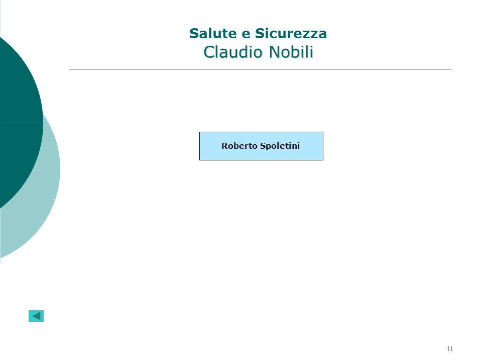 Salute e Sicurezza Claudio Nobili