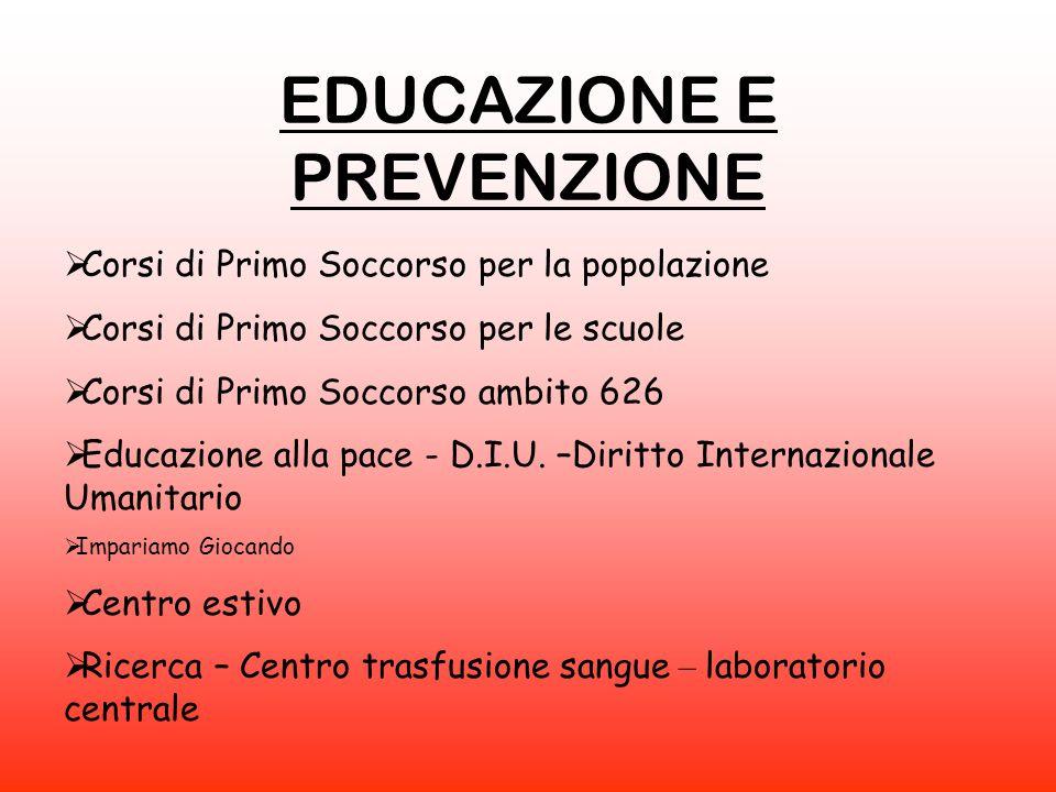 EDUCAZIONE E PREVENZIONE
