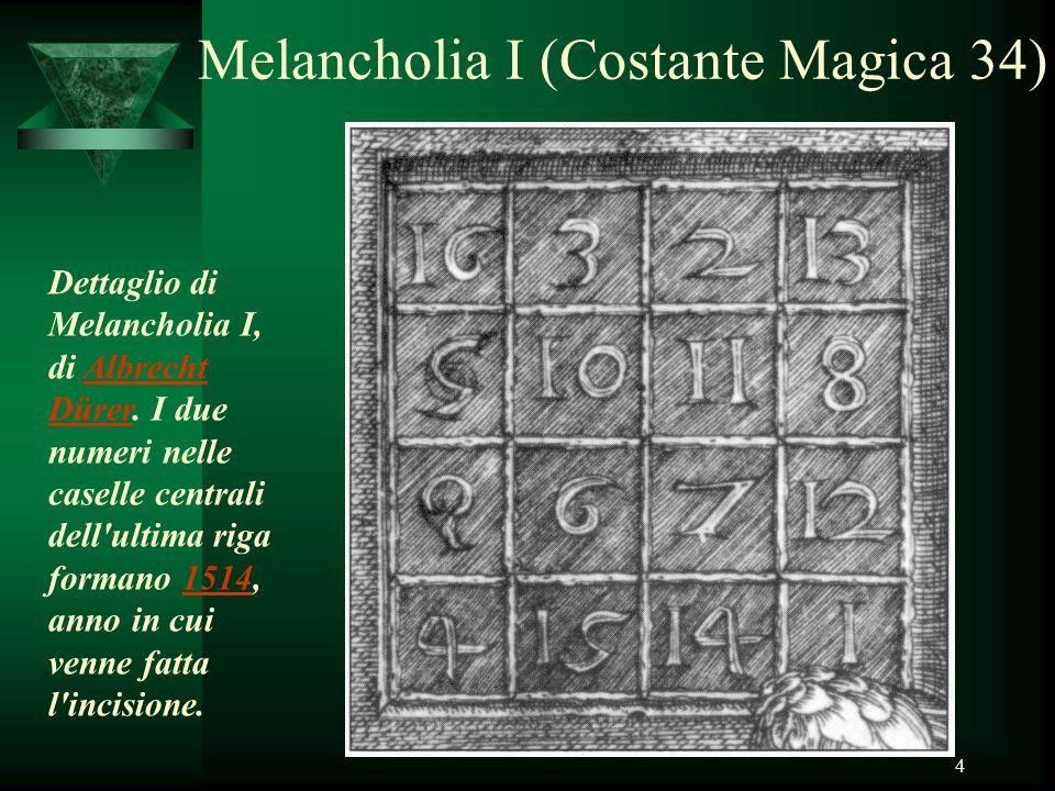 Melancholia I (Costante Magica 34)