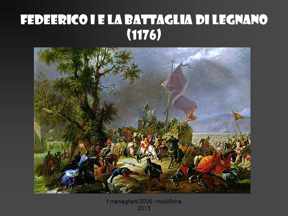Fedeerico I e La Battaglia di Legnano (1176)