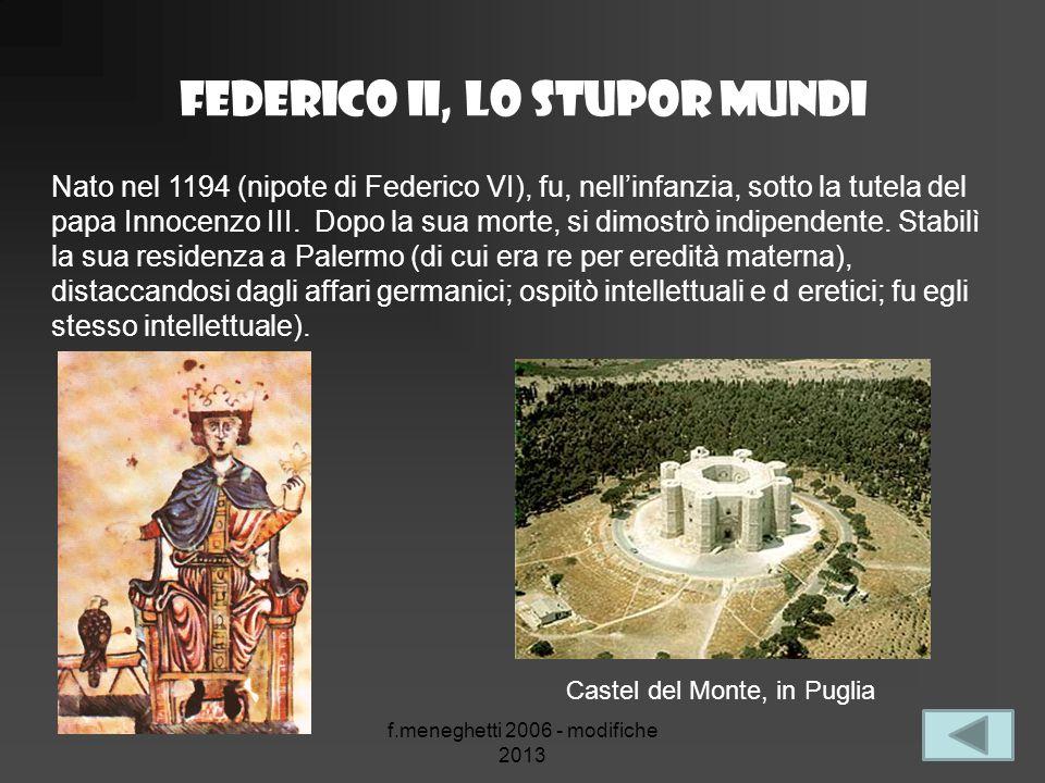 Federico II, lo stupor mundi