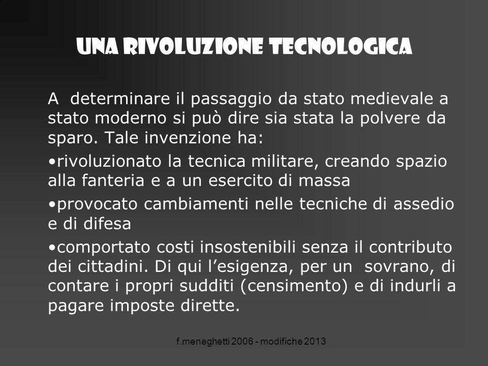 Una rivoluzione tecnologica