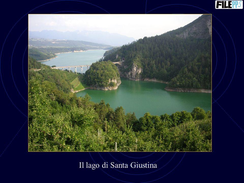 Il lago di Santa Giustina