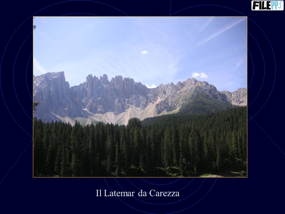 Il Latemar da Carezza