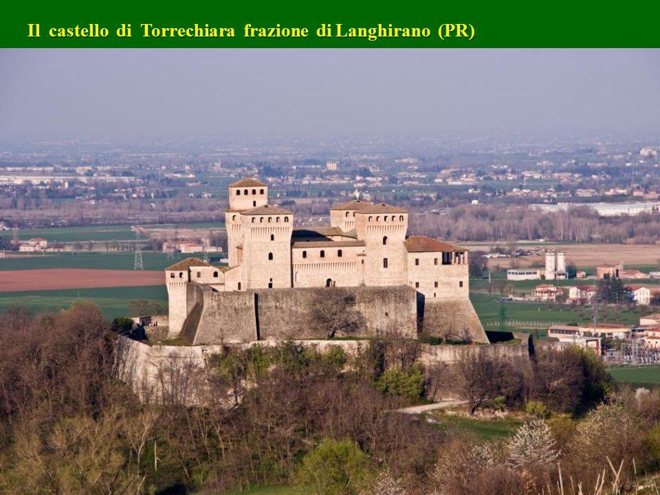 Il castello di Torrechiara frazione di Langhirano (PR)