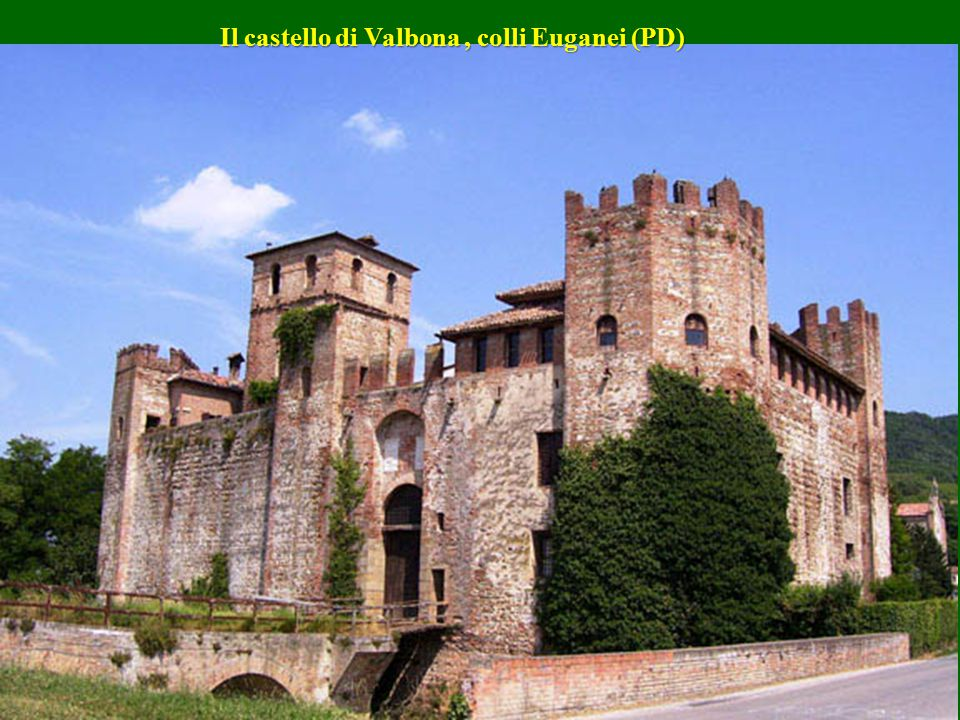Il castello di Valbona , colli Euganei (PD)