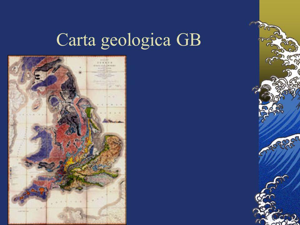 Carta geologica GB
