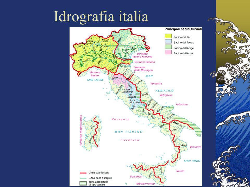 Idrografia italia