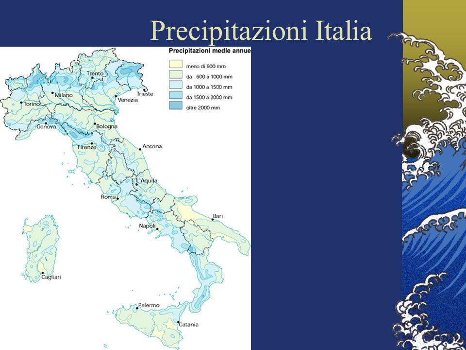 Precipitazioni Italia