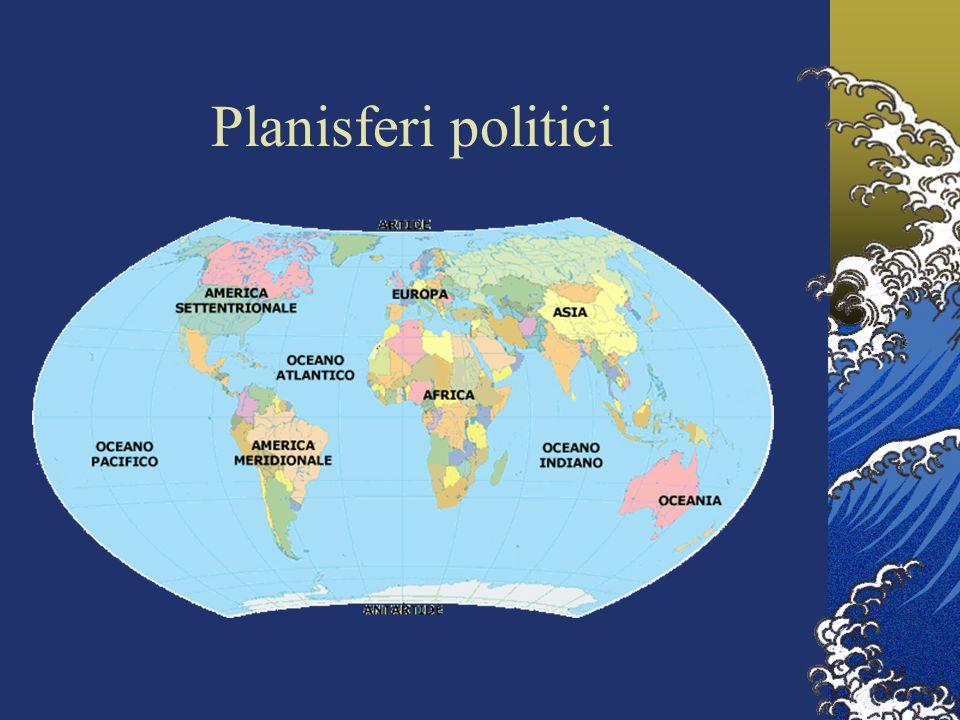Planisferi politici