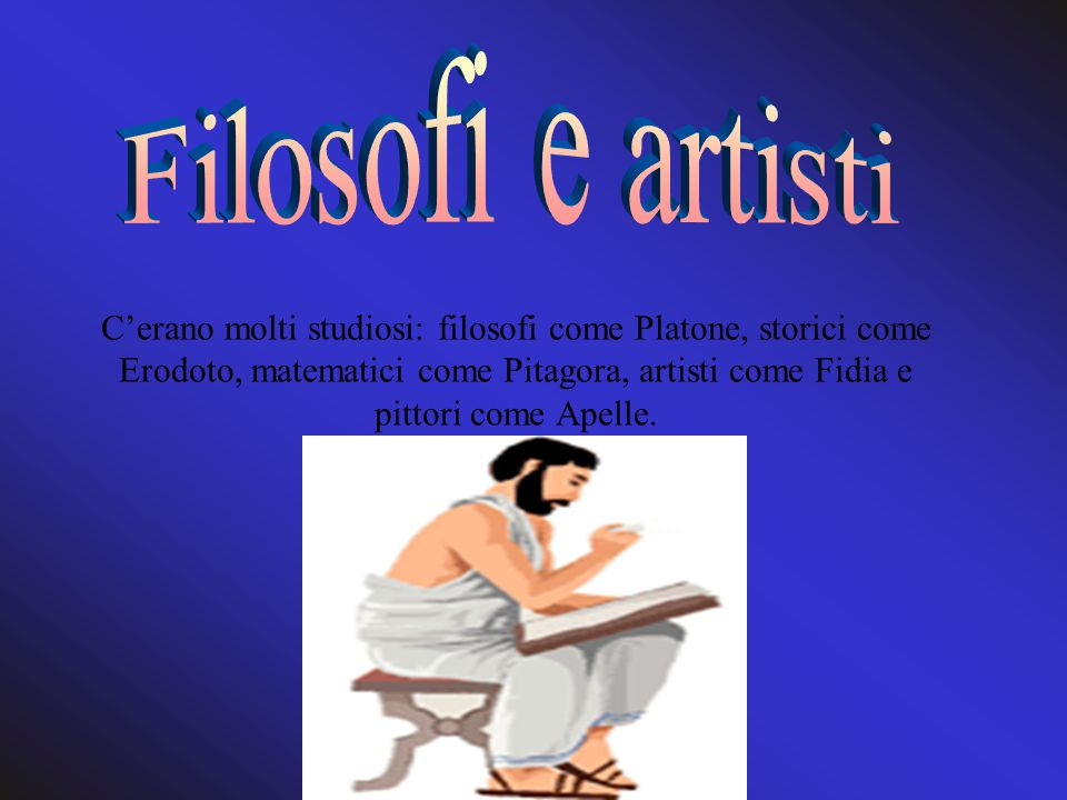 Filosofi e artisti