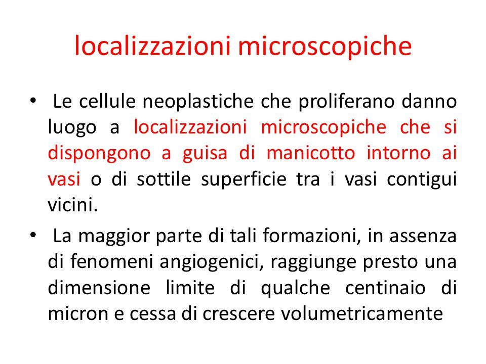 localizzazioni microscopiche