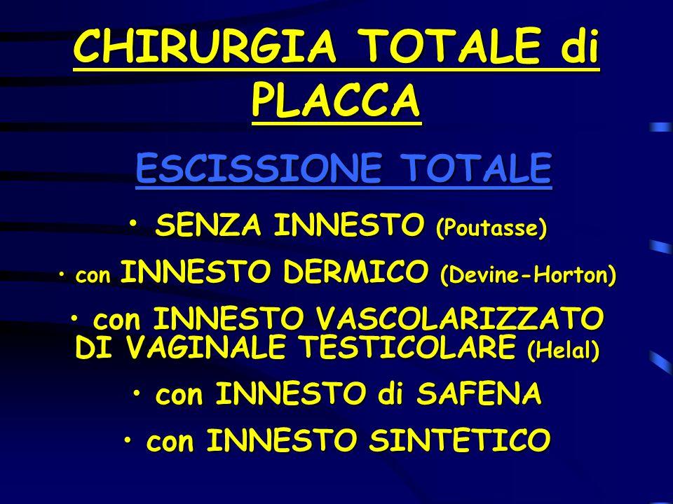 CHIRURGIA TOTALE di PLACCA