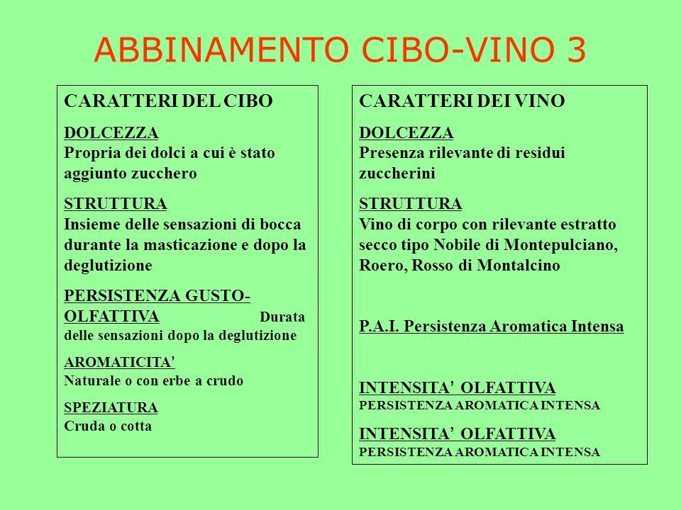 ABBINAMENTO CIBO-VINO 3