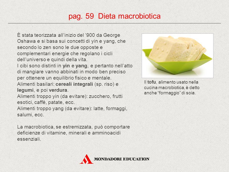 pag. 59 Dieta macrobiotica