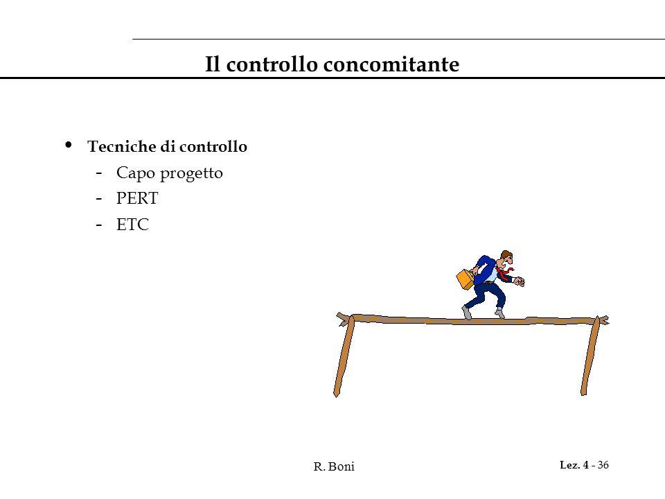 Il controllo concomitante