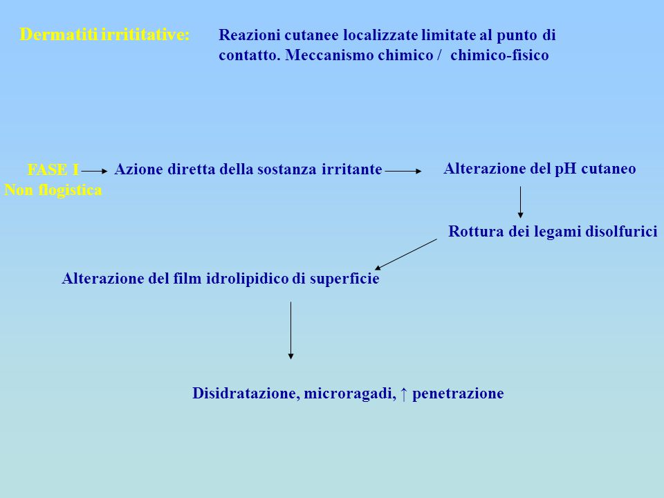 Dermatiti irrititative: