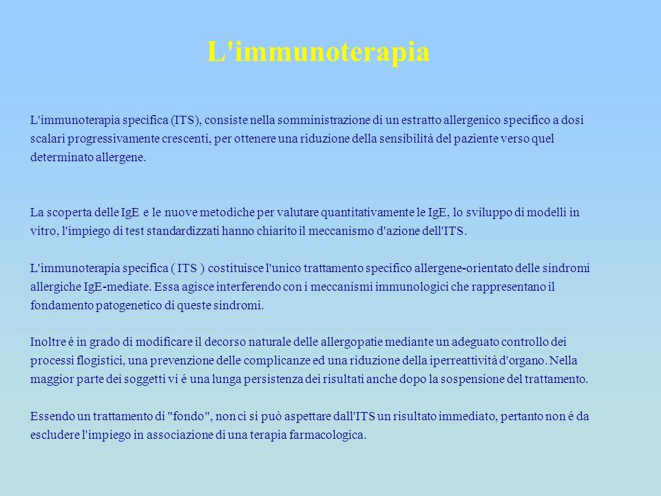 L immunoterapia