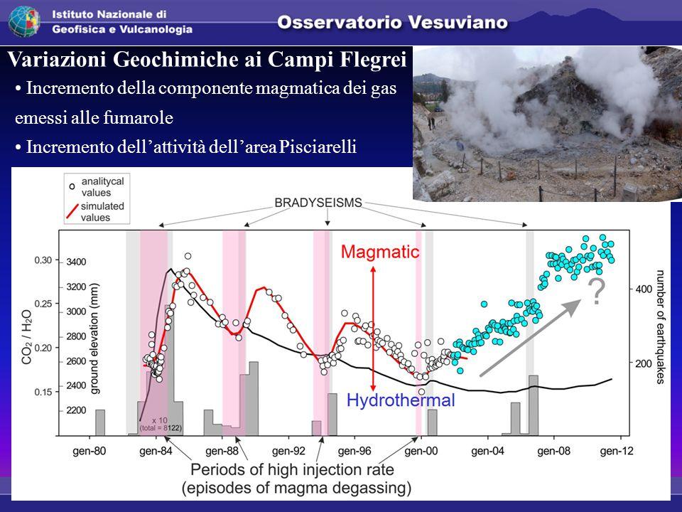 Variazioni Geochimiche ai Campi Flegrei